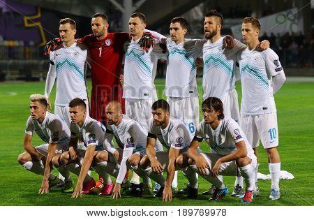 Slovenian National Football Team