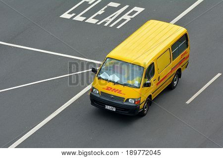 Dhl Express Vehicle