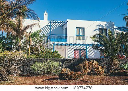 Marina Rubicon In Playa Blanca, Lanzarote, Canary Island, Spain
