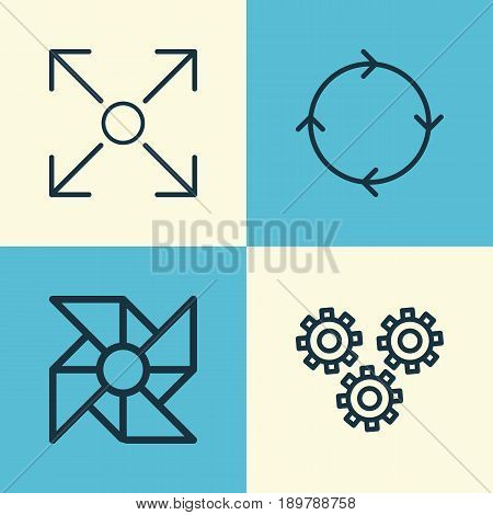 Learning Icons Set. Collection Of Branching Program, Recurring Program, Laptop Ventilator And Other Elements. Also Includes Symbols Such As Prong, Conditional, Loop.