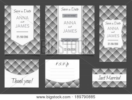 Beautiful Wedding Set Vector Photo Free Trial Bigstock
