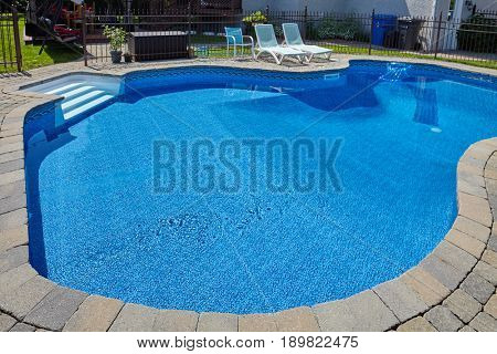 Swimming pool.