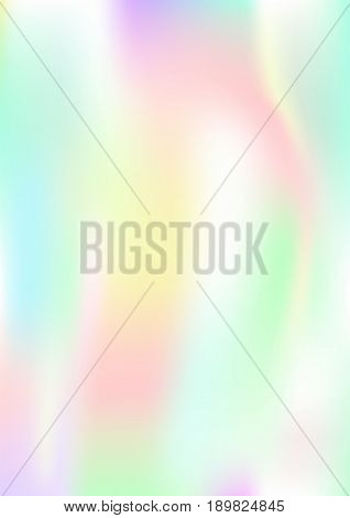 Vertical abstract background with holographic effect. vector illustration