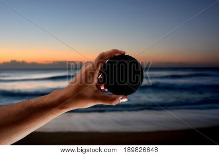 Neutral Density Filter For Use In  Photography