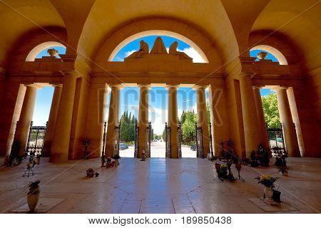 Arcades Of Verona City Cemetery