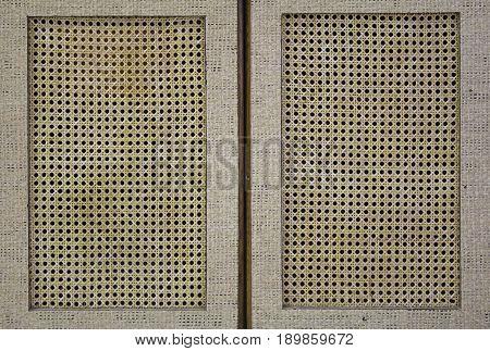 Wicker Cabinet