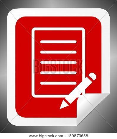 Checklist Report Shows Feedback Opinion 3D Illustration
