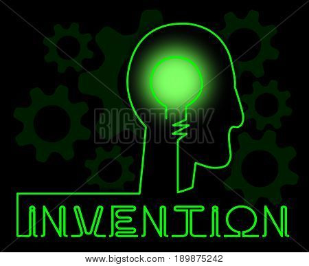 Invention Brain Means Innovating Invents And Innovating