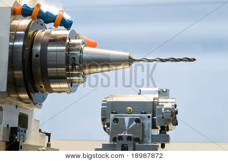 rapid machining steel drill for metalwork at machine tool