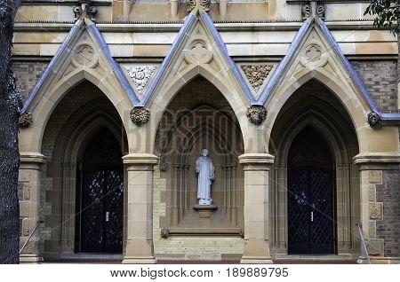 St. Canice Catholic Church in Darlinghurst Sydney. Built in 1888 by John Bede Barlow.
