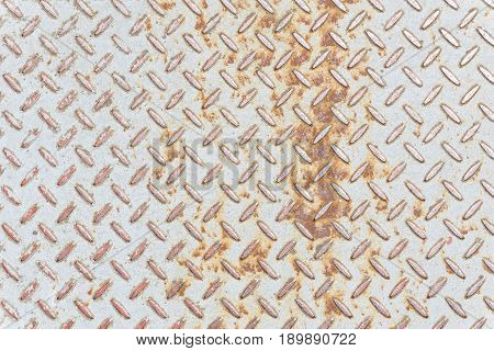 View on a structured white Iron Wall. Natural Background of Iron. Close-up of a structured Iron Wall. Massive Wall