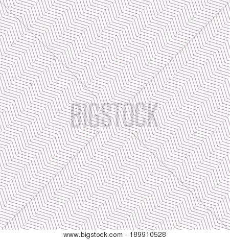 Zig zag seamless striped pattern. Diagonal chevron. Delicate fabric texture.