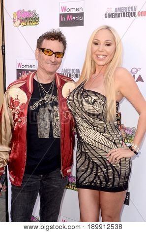 LOS ANGELES - JUN 3:  Robert Rhine, Mary Carey at the Etheria Film Night 2017 at the Egyptian Theater on June 3, 2017 in Los Angeles, CA