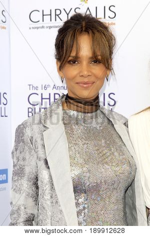 LOS ANGELES - JUN 3:  Halle Berry at the 16th Annual Chrysalis Butterfly Ball at the Private Estate on June 3, 2017 in Los Angeles, CA