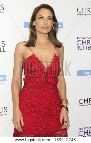 LOS ANGELES - JUN 3:  Claire Forlani at the 16th Annual Chrysalis Butterfly Ball at the Private Estate on June 3, 2017 in Los Angeles, CA