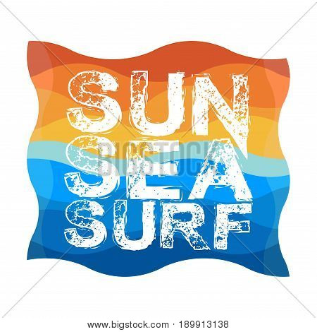 Surfing Miami Beach Florida surfing t-shirts T-shirt inscription typography graphic design emblem