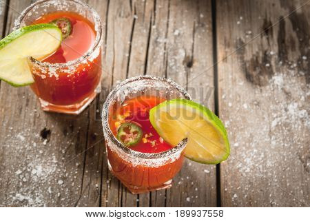 Mexican Traditional Drink Sangrita