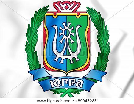 Khanty-mansi Autonomous Okrug Coat Of Arms, Russia.
