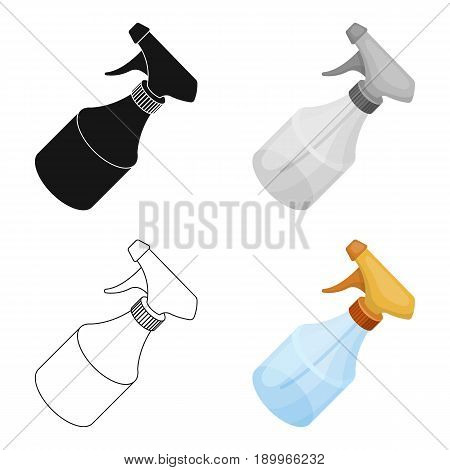 Spray.Barbershop single icon in cartoon style vector symbol stock illustration .