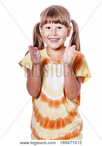 Girl Clapping Hands
