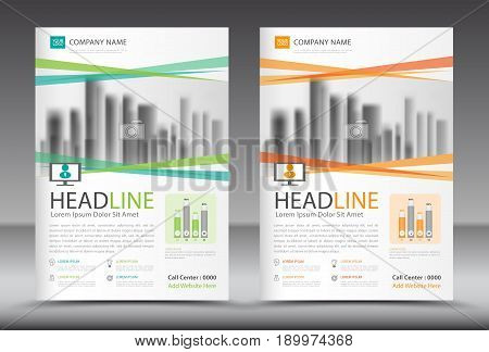 Business brochure flyer template annual report cover design advertisement printing magazine ads newspaper