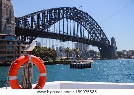Australia Sydney Harbour Bridge Travel Harbour Sea