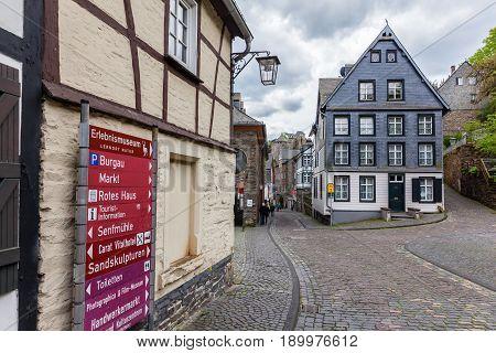 Cityscape Of Monschau, Germany
