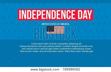 Happy independence day background illustration collection stock