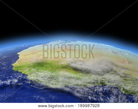Western Africa From Space