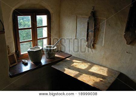 Antigua sala en Eslovenia