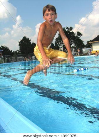 Jumping Fun into the Pool