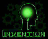 Invention Brain Meaning Innovating Invents And Innovating poster
