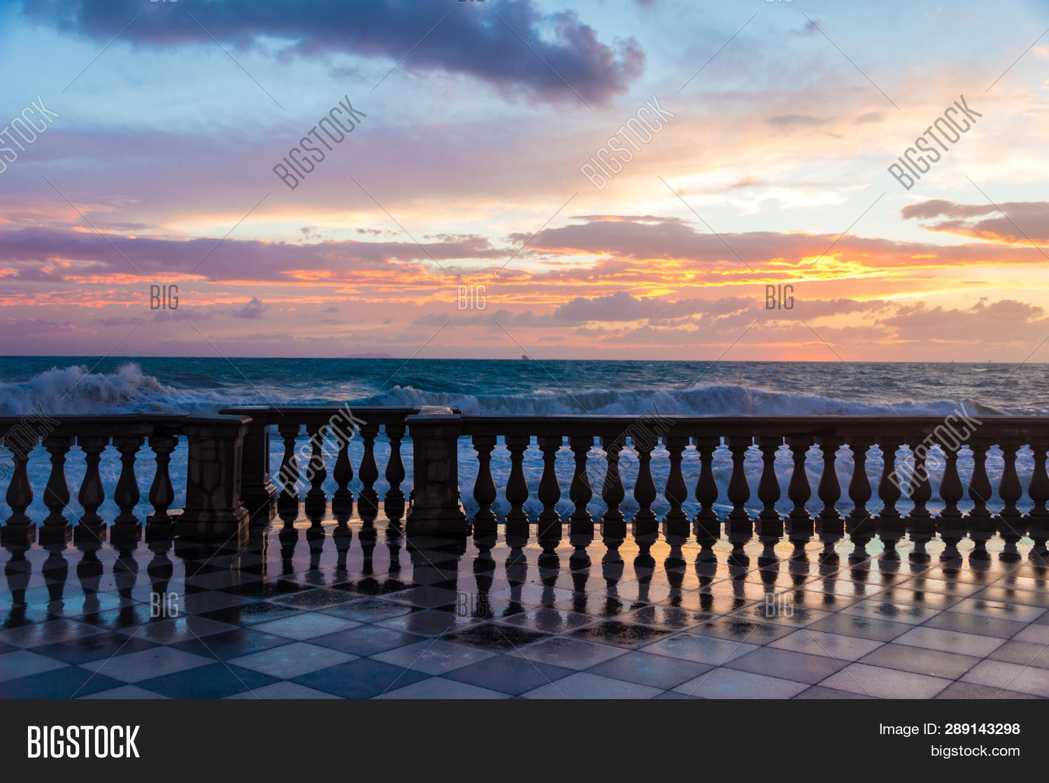 Terrazza Mascagni Wide Image Photo Free Trial Bigstock