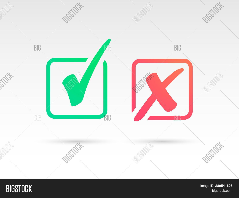 Set Green Check Mark Image & Photo (Free Trial) | Bigstock