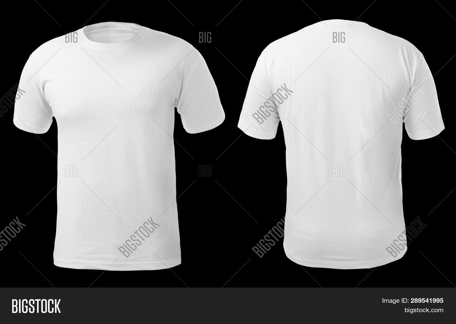 plain shirt back and front