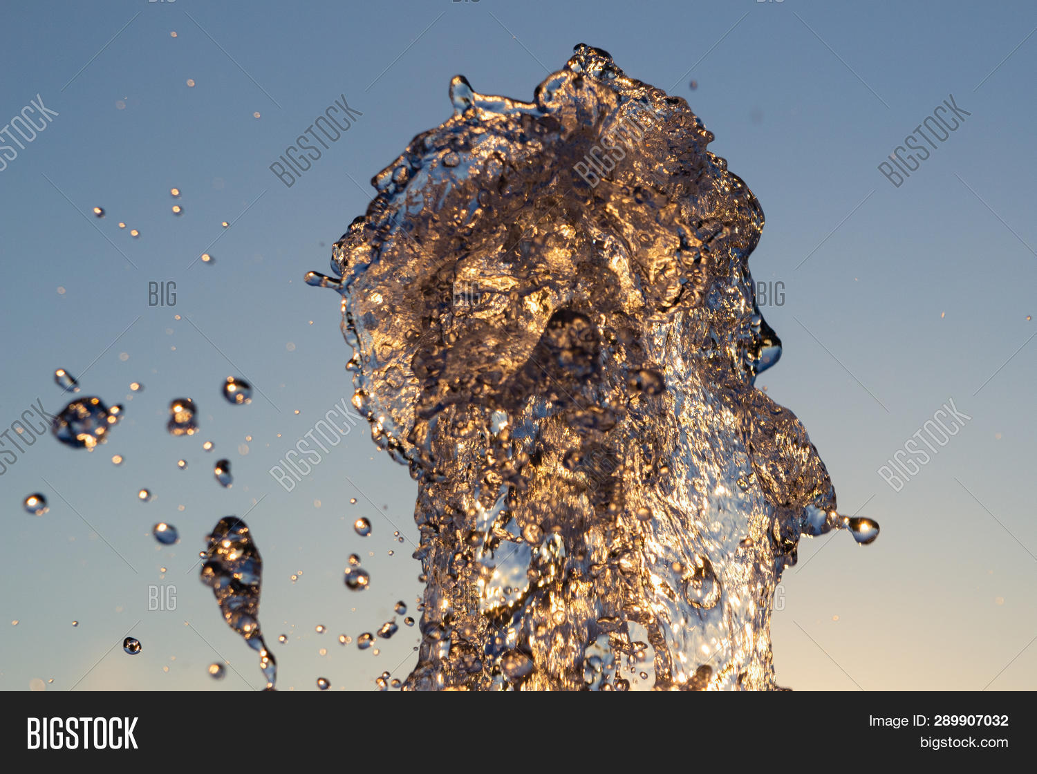 Сloseup Jet Water Image & Photo (Free Trial) | Bigstock
