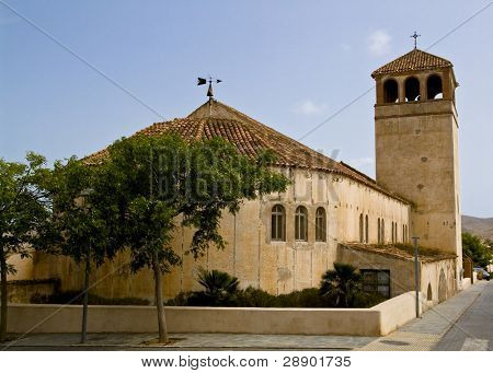 Antique church located in Almeria, Spain