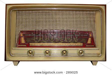 Vintage Radio W / ruta