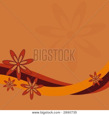 Retro Flower Design