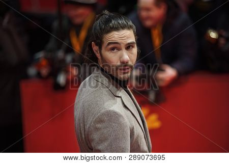 Tahir Rahim attends the 'The Kindness Of Strangers' premiere during the 69th Berlinale International Film Festival Berlin at Berlinale Palace on February 07, 2019 in Berlin, Germany.