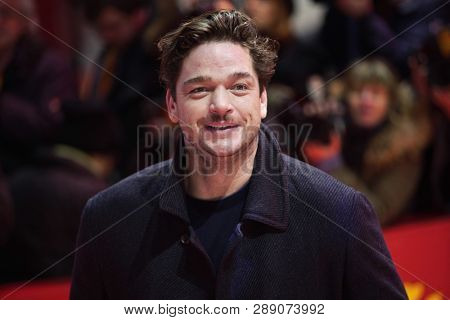 Ronald Zehrfeld attends the 'The Kindness Of Strangers' premiere during the 69th Berlinale International Film Festival Berlin at Berlinale Palace on February 07, 2019 in Berlin, Germany.