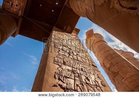 Karnak Temple In Luxor,