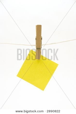 Peg And Blank Yellow