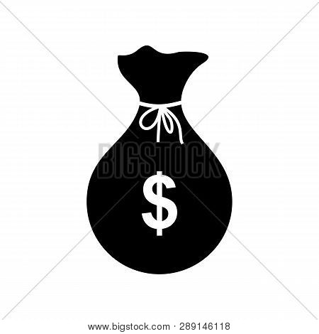 Money Bag Icon Vector, Money Bag Icon Flat, Money Bag Icon Isolated On White Background, Money Bag I