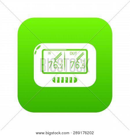 Tonometer Icon. Simple Illustration Of Tonometer Vector Icon For Web