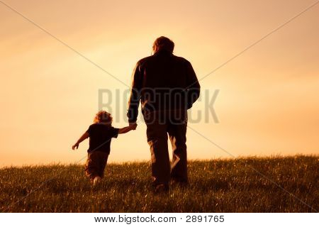 mich und mein Vater