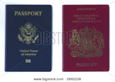 New Us And Eu Passports