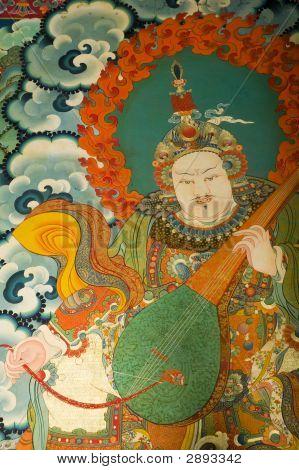 Buddhist Painting In Tibet