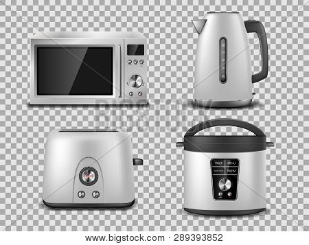 Kitchen Appliances Vector Photo Free Trial Bigstock