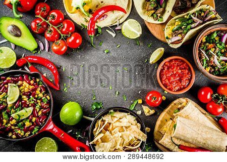 Mexican Food Concept. Cinco De Mayo Food.